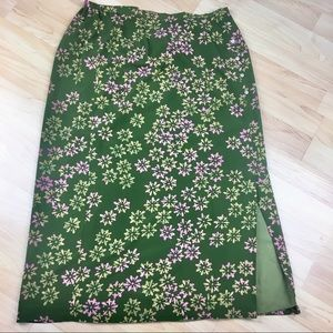 JH Collectibles Plus Size Floral Skirt